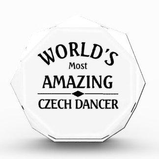 Amazing Czech Dancer Acrylic Award