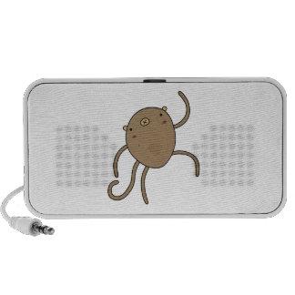Amazing Dancing Monkey iPhone Speakers