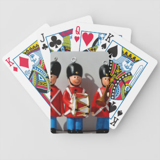 AMAZING DANISH SOLDIERS ARMY RED BICYCLE PLAYING CARDS
