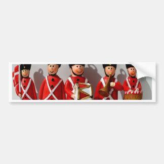 AMAZING DANISH SOLDIERS ARMY RED BUMPER STICKER