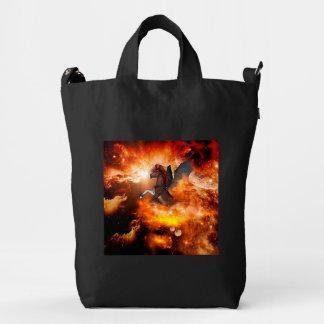 Amazing dark unicorn duck bag