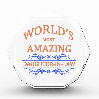 Amazing Daughter-In-Law Acrylic Award