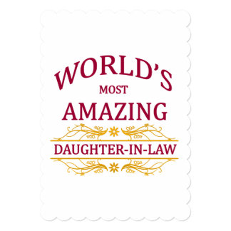 Amazing Daughter-In-Law Card