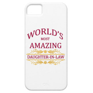 Amazing Daughter-In-Law iPhone 5 Cover