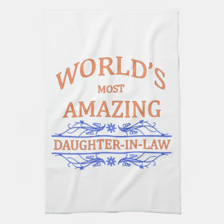 Amazing Daughter-In-Law Hand Towel