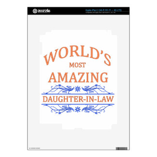 Amazing Daughter-In-Law iPad 3 Skin