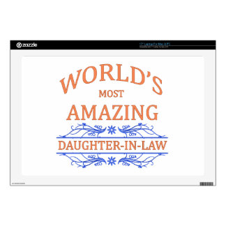 Amazing Daughter-In-Law Laptop Decals