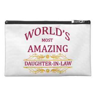 Amazing Daughter-In-Law Travel Accessory Bag