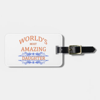 Amazing Daughter Bag Tags