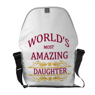 Amazing Daughter Messenger Bag