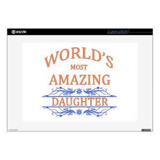 "Amazing Daughter Skin For 15"" Laptop"