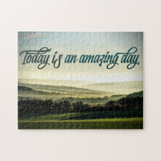 Amazing Day Custom Puzzle