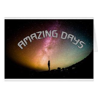 Amazing Days - wowpeer Card