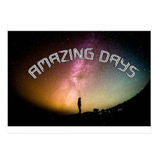 Amazing Days - wowpeer Postcard