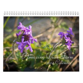 Amazing Diaz Farm 2014 Calendar