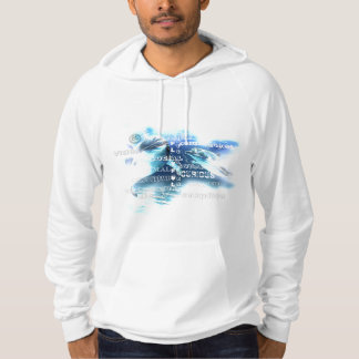 Amazing Dolphins California Fleece Pullover Hoodie