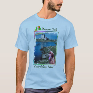 Amazing Dunguaire Castle Galway Bay View Ireland T-Shirt