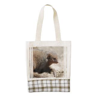 Amazing Dwarf Mongoose Zazzle HEART Tote Bag