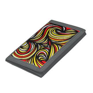 Amazing Excellent Simple Grandiose Tri-fold Wallet