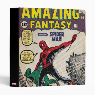 Amazing Fantasy Spider-Man Comic #15 Binder