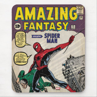 Amazing Fantasy Spider-Man Comic #15 Mouse Pad