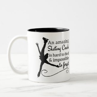Amazing figure skating coach Mug - Arabesque