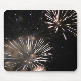 Amazing Fireworks Mouse Pad