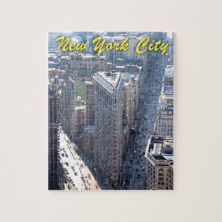 Amazing! Flatiron Building New York City Jigsaw Puzzle