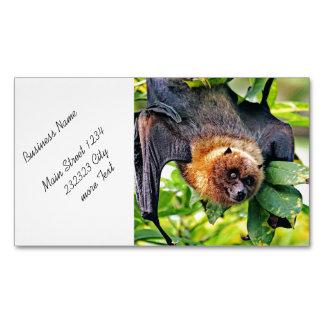 amazing Flight dog - bat Magnetic Business Card