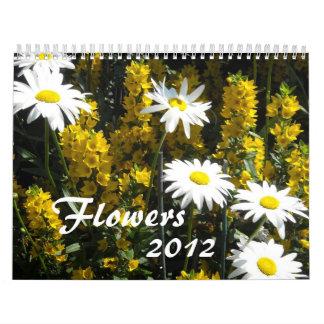 Amazing Flowers 2012 Calendars