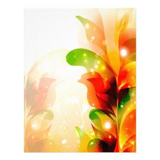 Amazing flowers letterhead