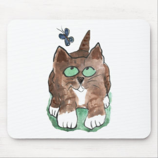 Amazing Fluttering Thing Catches Max's Eye Mouse Pad