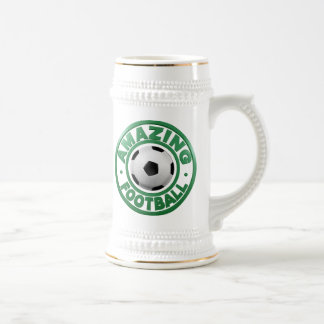 Amazing Football Beer Stein