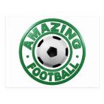 Amazing Football Postcards