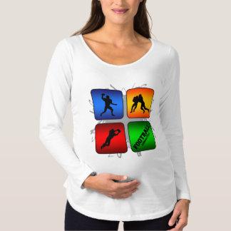 Amazing Football Urban Style Maternity T-Shirt