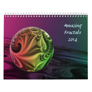 Amazing Fractals Wall Calendars
