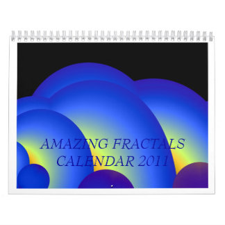 AMAZING FRACTALS CALENDAR 2011