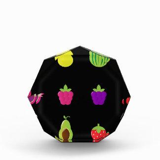 Amazing Fruit on black Vintage art Collection Award