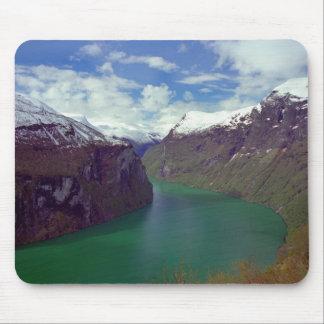 Amazing Geiranger Fjord Mousepad