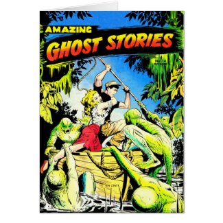 Amazing Ghost Stories Card