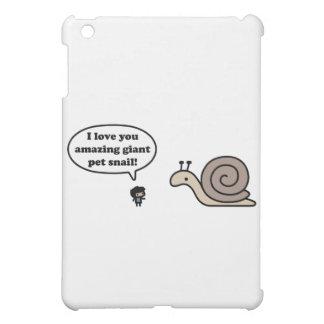 Amazing Giant Pet Snail iPad Mini Cases