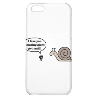 Amazing Giant Pet Snail iPhone 5C Cover