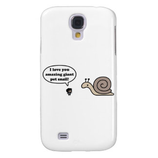 Amazing Giant Pet Snail Samsung Galaxy S4 Cover