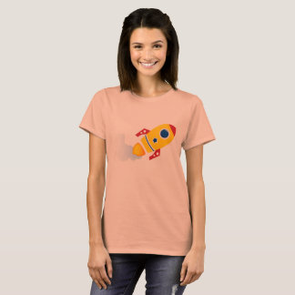 Amazing Girls T-Shirt with Sky Rocket gold