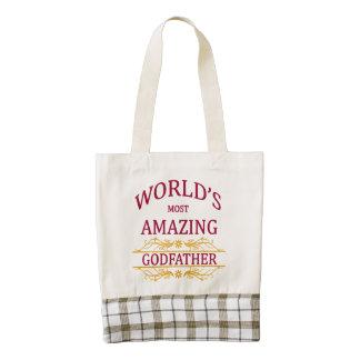 Amazing Godfather Zazzle HEART Tote Bag