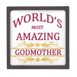 Amazing Godmother Keepsake Box
