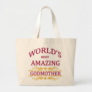 Amazing Godmother Large Tote Bag