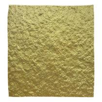 Amazing Gold Metal Pattern Bandana