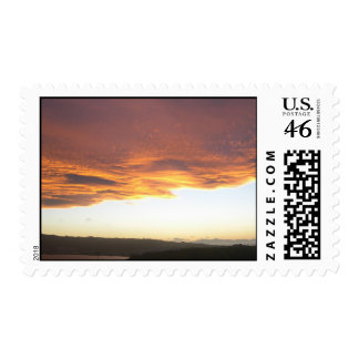 Amazing Golden Sunset Stamps