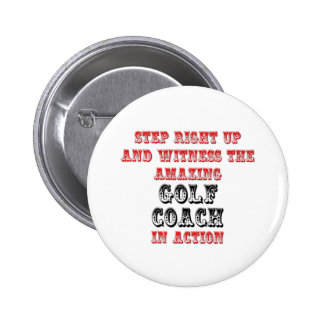 Amazing Golf Coach In Action Button